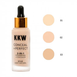 Тональный крем KKW Conceal+Perfect 2-in-1 Foundation