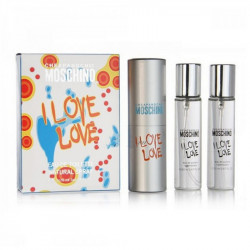 Набор Moschino Cheap and Chic I Love Love (3x20ml)