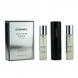 Набор Chanel Egoiste Platinum (3x20ml)