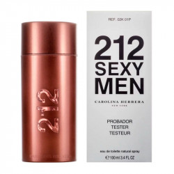 Carolina Herrera 212 Sexy Men (100ml), тестер