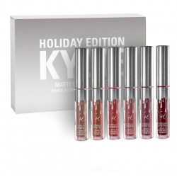 Набор матовых помад Kylie Holiday Edition Collection 6 шт